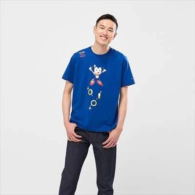 ユニクロのザ ゲームピクセルズ UT ソニック・ザ・ヘッジホッグ(グラフィックTシャツ・半袖)