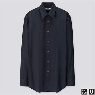 2019秋冬ユニクロUのブロードシャツ(長袖)