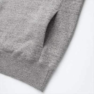 ユニクロのスウェットプルパーカ(長袖)