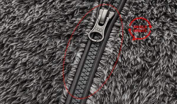ユニクロのファーリーフリースフルジップジャケットの2019年アップデートポイント