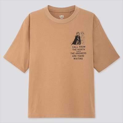 ユニクロのディズニー アナと雪の女王 2 コレクション UT(グラフィックTシャツ・半袖)