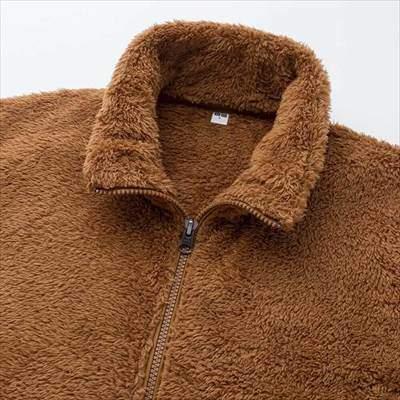 ユニクロのファーリーフリースフルジップジャケット