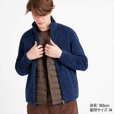 ユニクロのフリースフルジップジャケット