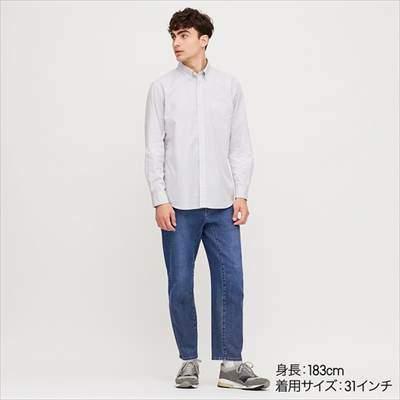 ユニクロのミラクルエアー3Dジーンズ(丈標準71~74cm)のコーディネート例