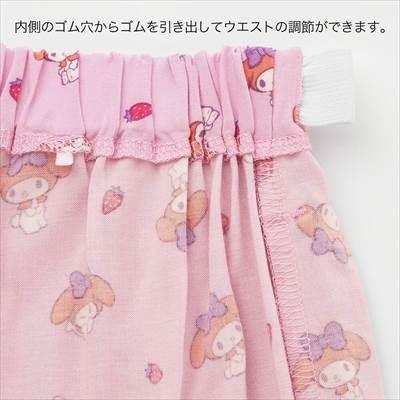 ユニクロのGIRLS サンリオキャラクターズ リラコ