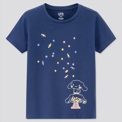 ユニクロのGIRLS サンリオキャラクターズ UT(グラフィックTシャツ・半袖)