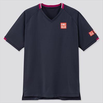 ユニクロのRFドライEXVネックTシャツ(半袖)