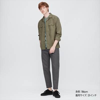 ユニクロのミラクルエアー3Dジーンズ(丈標準71~74cm)のダークグレー