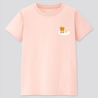 ユニクロのGIRLS リラックマ UT(グラフィックTシャツ・半袖)