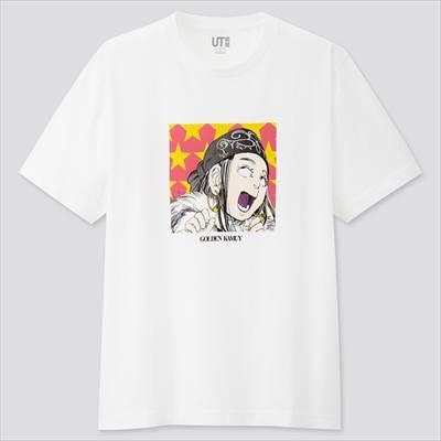 ユニクロのマンガ UT 週刊ヤングジャンプ創刊40周年 ゴールデンカムイ(グラフィックTシャツ・半袖)