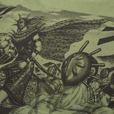 ユニクロのマンガ UT 週刊ヤングジャンプ創刊40周年 キングダム(グラフィックTシャツ・半袖)