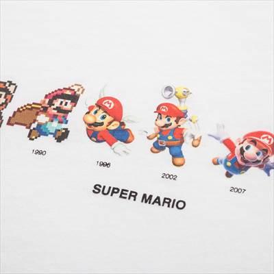 ユニクロのKIDS スーパーマリオ UT(グラフィックTシャツ・半袖)