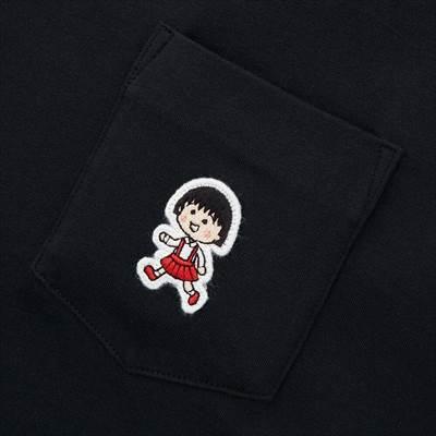 ユニクロのマンガ UT りぼん 65周年 ちびまる子ちゃん(グラフィックTシャツ・半袖)