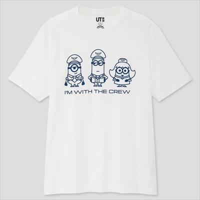 ユニクロの『ミニオンズ フィーバー』 UT(半袖・レギュラーフィット)