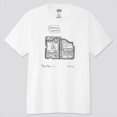 ユニクロのダニエル・アーシャム x ポケモン UT(半袖・レギュラーフィット)