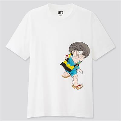 ユニクロのマンガ UT ゲゲゲの鬼太郎(半袖・レギュラーフィット)