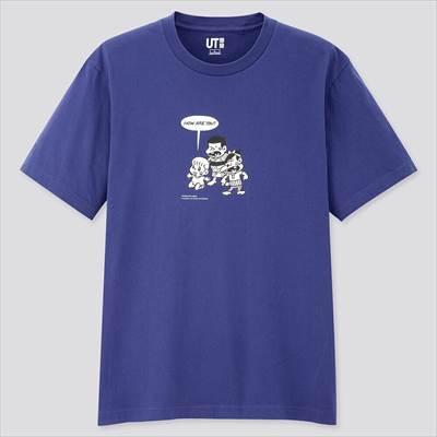 ユニクロのマンガ UT 天才バカボン(半袖・レギュラーフィット)