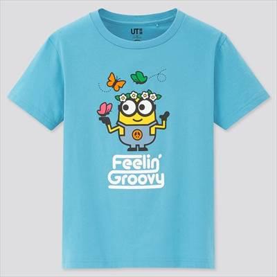 ユニクロのKIDS 『ミニオンズ フィーバー』 UT(グラフィックTシャツ・半袖)