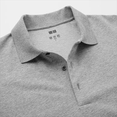 ユニクロのエアリズムUVカットポロシャツ(長袖)