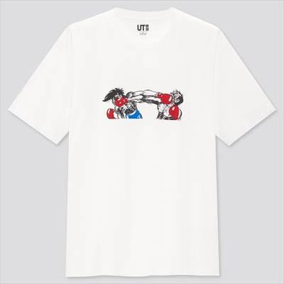 ユニクロのマンガ UT スポーツ あしたのジョー(グラフィックTシャツ・半袖)