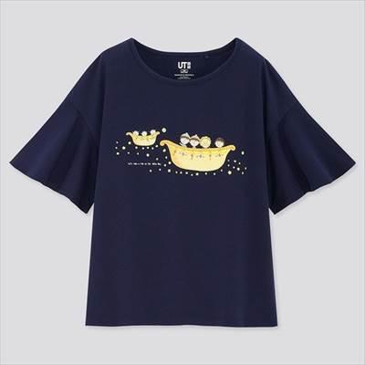 ユニクロのGIRLS まる子とコジコジ UT(グラフィックTシャツ・半袖)