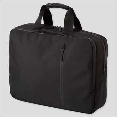 ユニクロのビジネス3WAYバッグ(男女兼用)