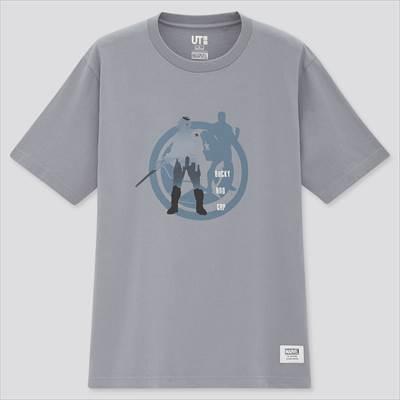 ユニクロのマーベル・ユニバース UT グラフィックTシャツ(半袖・レギュラーフィット)
