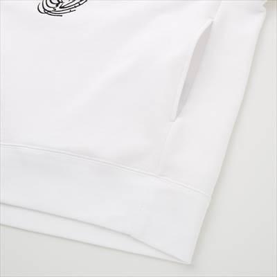 ユニクロのピーナッツ ムード スウェットプルパーカ(長袖)