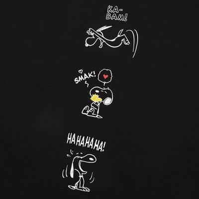 ユニクロのピーナッツ ムード UT(半袖・オーバーサイズフィット)