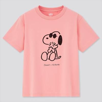 ユニクロ×KIDS ピーナッツ × 長場雄 UT グラフィックTシャツ(半袖)