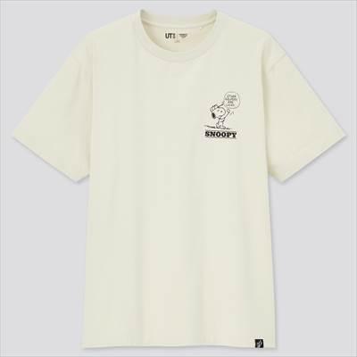 ユニクロのピーナッツ ビンテージ UT グラフィックTシャツ(半袖・レギュラーフィット)