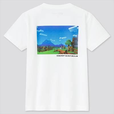 ユニクロのKIDS マインクラフト UT グラフィックTシャツ(半袖)