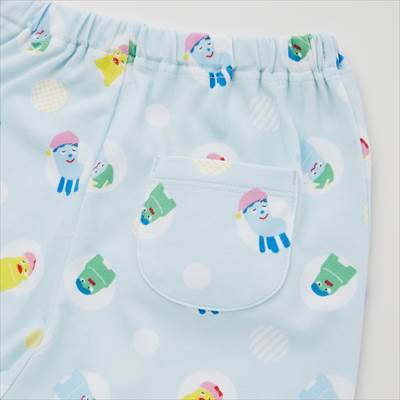 ユニクロのEテレキッズキャラクターコレクション ドライパジャマ(半袖)