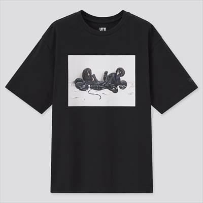 ユニクロのディズニー ミッキーマウス & ミニーマウス アート バイ 吉田ユニ UT グラフィックTシャツ(半袖・リラックスフィット)