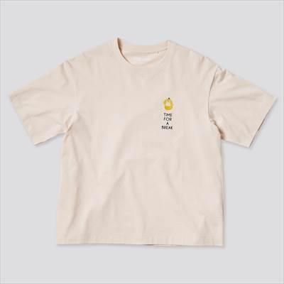 ユニクロのポケモン オールスターズ UT グラフィックTシャツ コダック(半袖・リラックスフィット)