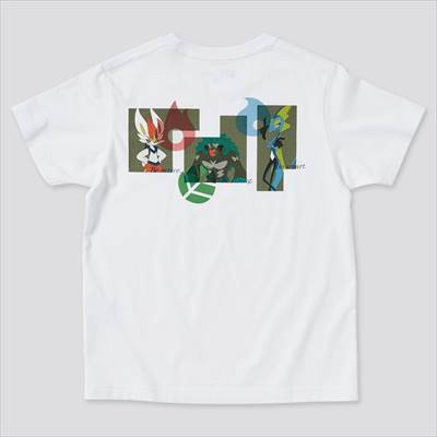 ユニクロのKIDS ポケモン オールスターズ UT グラフィックTシャツ(半袖)