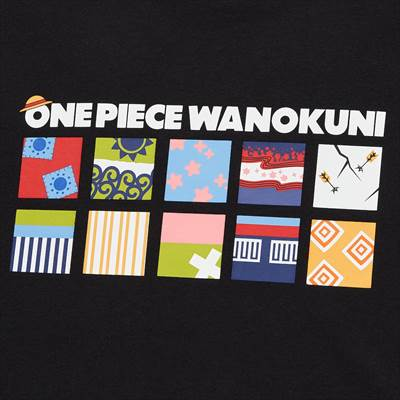 ONE PIECE ワノ国 UT グラフィックTシャツ(半袖・レギュラーフィット)