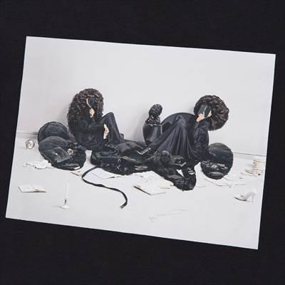 ユニクロのGIRLS ディズニー ミッキーマウス & ミニーマウス アート バイ 吉田ユニ UT グラフィックTシャツ(半袖)