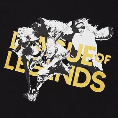 ユニクロのリーグ・オブ・レジェンド UT グラフィックTシャツ(半袖・レギュラーフィット)