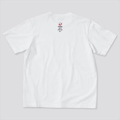 ユニクロのポケモン オールスターズ UT グラフィックTシャツ ピカチュウ(半袖・レギュラーフィット)