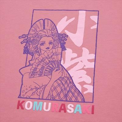 ONE PIECE ワノ国 UT グラフィックTシャツ 小紫(半袖・レギュラーフィット)