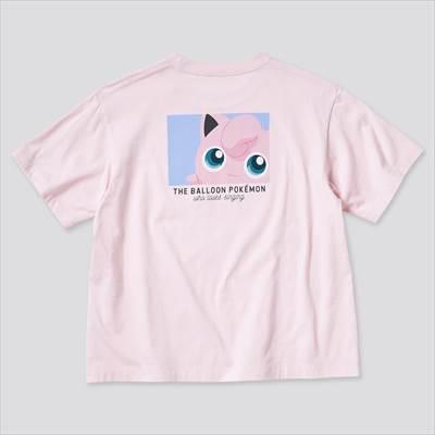 ユニクロのポケモン オールスターズ UT グラフィックTシャツ プリン(半袖・リラックスフィット)