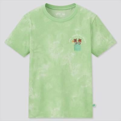 ユニクロのKIDS あつまれ どうぶつの森 UT グラフィックTシャツ(半袖)