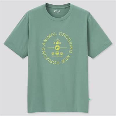 ユニクロのあつまれ どうぶつの森 UT グラフィックTシャツ(半袖・レギュラーフィット)