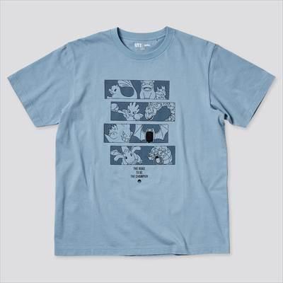 ユニクロのポケモン オールスターズ UT グラフィックTシャツ(半袖・レギュラーフィット)