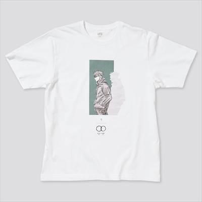 ユニクロの呪術廻戦 UT グラフィックTシャツ 五条 悟(半袖・レギュラーフィット)