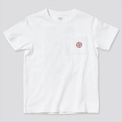 ユニクロのKIDS 呪術廻戦 UT グラフィックTシャツ(半袖)