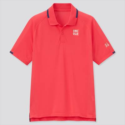 ユニクロのRFドライEXポロシャツ(半袖) 21FRA