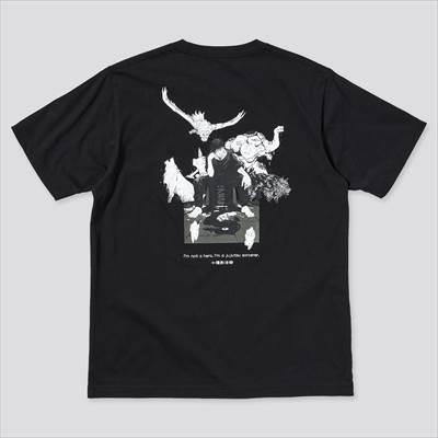 ユニクロの呪術廻戦 UT グラフィックTシャツ 伏黒 恵(半袖・レギュラーフィット)