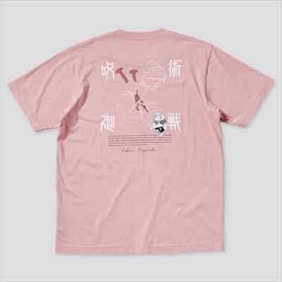 ユニクロの呪術廻戦 UT グラフィックTシャツ 釘崎 野薔薇(半袖・レギュラーフィット)